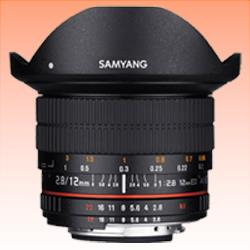 Image of New Samyang 12mm f/2.8 ED AS NCS Fish-eye Lens for Nikon