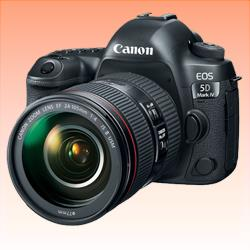 Image of New Canon EOS 5D Mark IV with EF 24-105mm f/4L II Lens Kit