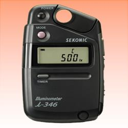 Image of New Sekonic Illuminometer i-346 Light Meter DSLR Camera Kit