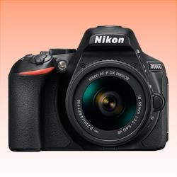 Image of New Nikon D5600 24MP Kit AF-P (18-55 VR) Digital SLR Camera Black