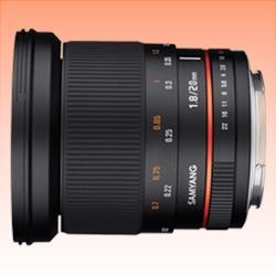 Image of New Samyang 20mm f/1.8 ED AS UMC (Fuji X)