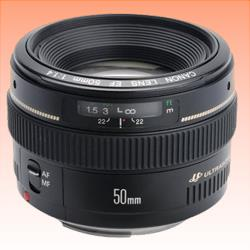 Image of New Canon EF 50mm f/1.4 USM 50 mm F1.4 Lens