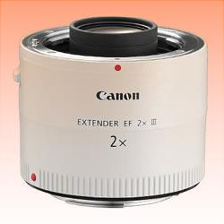 Image of New Canon EF EXTENDER 2X MK 3 III 2.0 X LENS Teleconver
