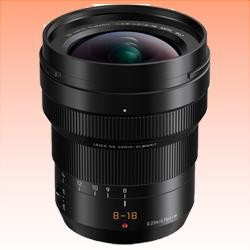 Image of New Panasonic Leica DG Elmarit 8-18mm f/2.8-4.0 Asph Lens Black