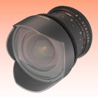 Image of New Samyang 14mm T3.1 ED AS IF UMC VDSLR II for Nikon