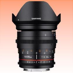 Image of New Samyang 20mm T1.9 ED AS UMC Cine Lens for Canon