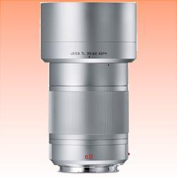 Image of New Leica APO-Macro-Elmarit-TL 60mm F2.8 ASPH Lens Silver