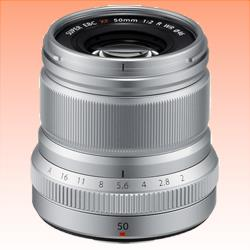 Image of New Fujifilm XF 50mm f/2 R WR Silver Lens