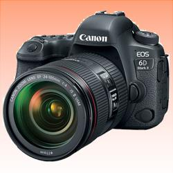 Image of New Canon EOS 6D Mark II with 24-105mm f/4L IS II USM Digital Cameras