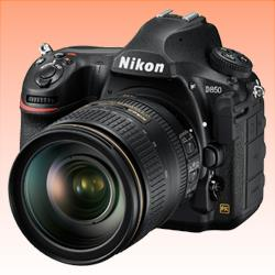 Image of New Nikon D850 DSLR 45MP Kit 24-120mm Digital Camera