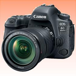 Image of New Canon EOS 6D Mark II with 24-105mm IS STM Digital Cameras