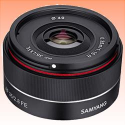 Image of New Samyang AF 35mm F2.8 FE Sony E
