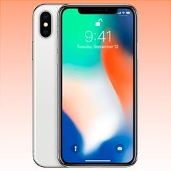 Image of Used as Demo Apple iPhone X 64GB 4G LTE Silver (6 month warranty + 100% Genuine)