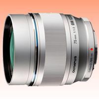 Image of New Olympus M.Zuiko Digital ED 75mm F1.8 Lens Silver