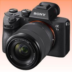 Image of New Sony Alpha A7 Mark III 24MP Kit (28-70mm) Mirrorless Digital SLR Cameras
