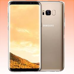Image of Used as Demo Samsung Galaxy S8 64GB 4G LTE Smartphone Maple Gold Australian Stock (6 month warranty + 100% Genuine)