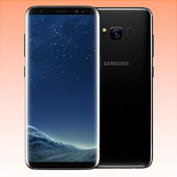 Image of Used as Demo Samsung Galaxy S8 64GB 4G LTE Smartphone Midnight Black Australian Stock (6 month warranty + 100% Genuine)
