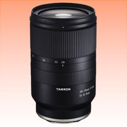 Image of New Tamron 28-75mm F2.8 Di III RXD Lens for Sony-E