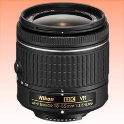 Image of New Nikon AF-P DX NIKKOR 18-55mm f/3.5-5.6G VR Lens Black