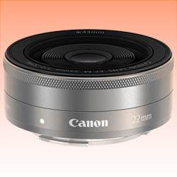 Image of New Canon EF-M 22mm f/2.0 STM Silver Lens