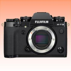 Image of New Fujifilm X-T3 Mirrorless 26MP Digital Camera Black