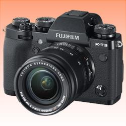 Image of New Fujifilm X-T3 Mirrorless 26MP (18-55mm) Digital Camera Black