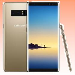 Image of Used as demo Samsung Galaxy Note 8 64GB 4G LTE Smartphone Gold Australian Stock (6 month warranty + 100% Genuine)