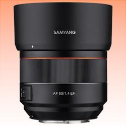 Image of New Samyang AF 85mm F1.4 EF Canon Lens