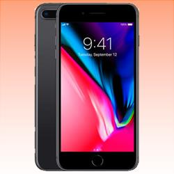 Image of Used as Demo Apple iPhone 8 Plus 64GB 4G LTE Black (6 month warranty + 100% Genuine)