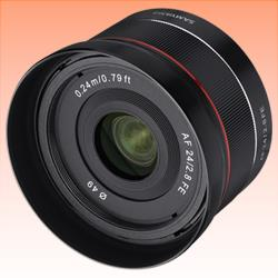 Image of New Samyang AF 24mm F2.8 FE Sony E