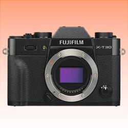 Image of New Fujifilm X-T30 Mirrorless 26MP Digital Camera Black