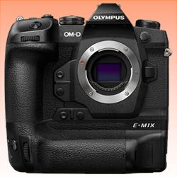 Image of New Olympus OM-D E-M1X (Body) Digital Cameras Black