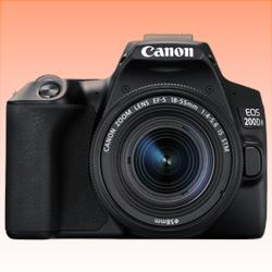 Image of New Canon EOS 200D II 24.2MP Kit (18-55mm) Digital Camera Black