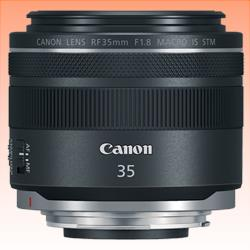 Image of New Canon RF 35mm f/1.8 Macro IS STM Lens