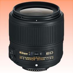 Image of New Nikon AF-S NIKKOR 35mm f/1.8G ED Lens