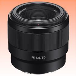 Image of New Sony FE 50mm F1.8 Lens