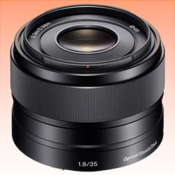 Image of New Sony E 35mm F1.8 OSS Lens