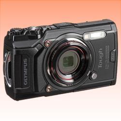 Image of New Olympus TOUGH TG-6 12MP Digital Camera Black