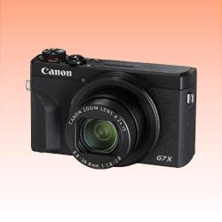 Image of New Canon PowerShot G7 X Mark III Digital Camera Black