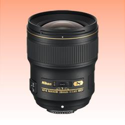 Image of New Nikon AF-S NIKKOR 28mm f/1.4E ED Lens