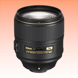 Image of New Nikon AF-S NIKKOR 105mm f/1.4E ED Lens