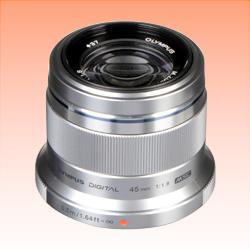 Image of New Olympus M.Zuiko Digital ED 45mm F1.8 Lens Silver