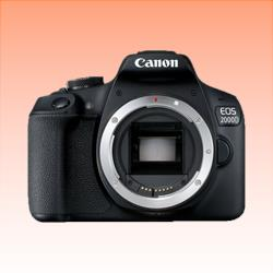 Image of New Canon EOS 2000D Body Digital SLR Camera Black