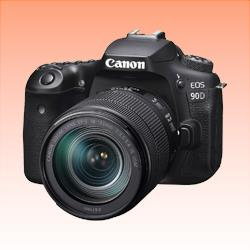 Image of New Canon EOS 90D EF-S 18-135mm f/3.5-5.6 IS USM Lens Digital SLR Camera