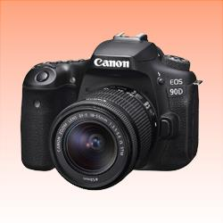 Image of New Canon EOS 90D EF-S 18-55mm f/3.5-5.6 IS STM Lens Digital SLR Camera