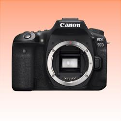 Image of New Canon EOS 90D Body Digital SLR Camera Black