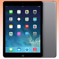 Image of Used as demo Apple iPad Air 16GB 4G LTE Tablet Black (6 month warranty + 100% Genuine)
