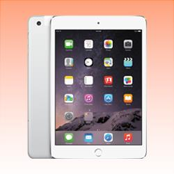Image of Used as Demo Apple iPad Mini 3 16GB 4G LTE Tablet Silver (6 month warranty + 100% Genuine)
