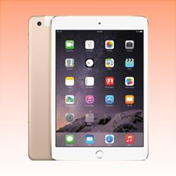 Image of Used as Demo Apple iPad Mini 3 64GB 4G LTE Tablet Gold (6 month warranty + 100% Genuine)