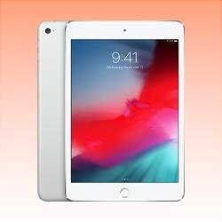 Image of Used as demo Apple iPad Mini 4 64GB Wifi + Cellular Silver (6 month warranty + 100% Genuine)